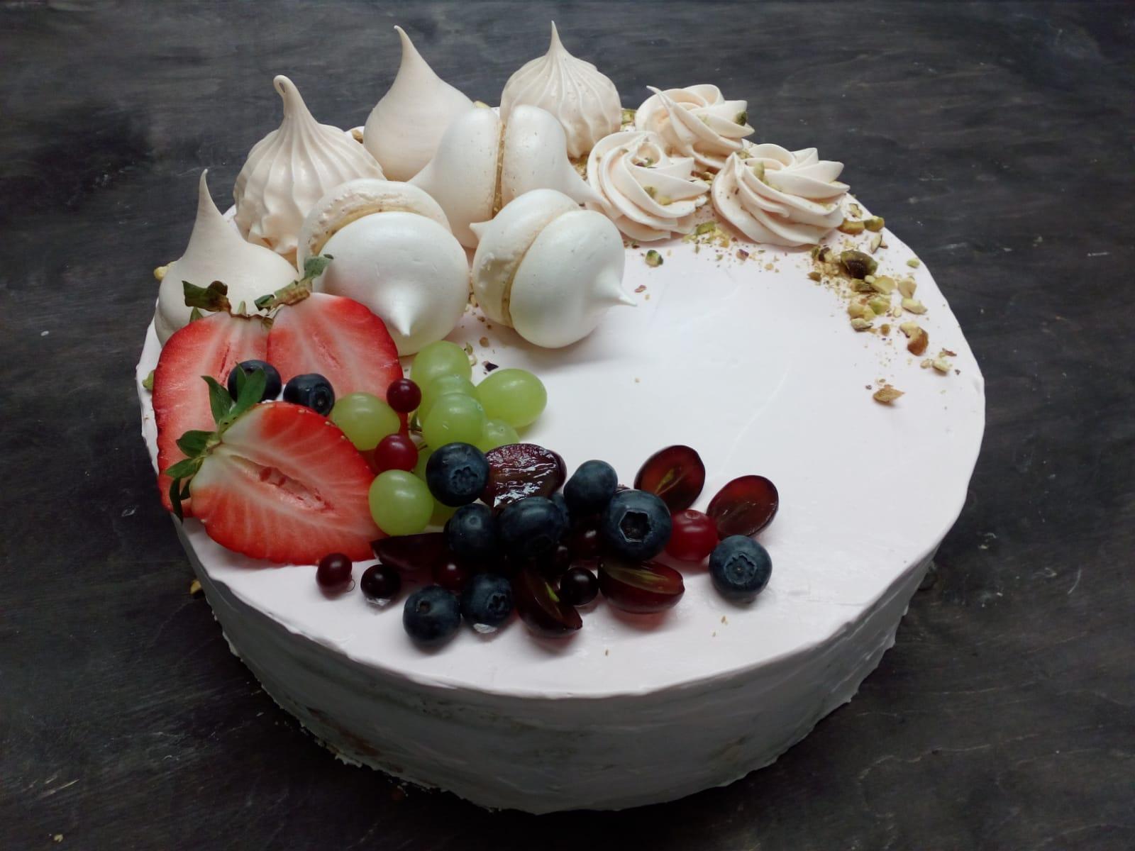 tortas su pistacijomis
